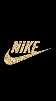 Nike // Fond d'ecran // Iphone Wallpaper // Tendance or dore- Terriere-