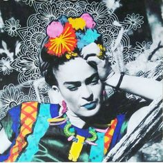 68 New Ideas For Wallpaper Frida Kahlo Viva La Vida Diego Rivera, Frida E Diego, Frida Art, Kahlo Paintings, Art Graphique, Collage Art, Saul Leiter, Pop Art, Pop Culture