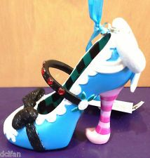 Disney Parks Alice in Wonderland Princess Shoe Christmas Ornament NEW