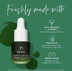 Day 3 - Free Mini Super Greens Natural Face Cream, Tamanu Oil, Cosmetic Design, Super Greens, Cruelty Free Makeup, Cosmetic Packaging, Natural Cosmetics, Skin Care, True Nature