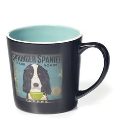 Look at this #zulilyfind! Springer Spaniel Mug #zulilyfinds
