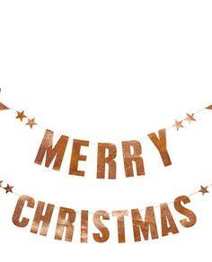 Girlande Merry Christmas