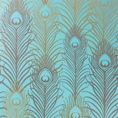 Peacock, papier peint Matthew Williamson