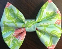 Lilly Pulitzer Alpha Chi Omega Hair Bow