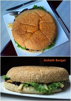 Goliath Burger Grand Aston Yogyakarta
