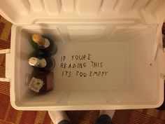 Sorority crafts Drake - So my date for our fraternity's formal had an awesome idea for the bottom of my cooler I just had to share it with my fellow HHH Nola Cooler, Diy Cooler, Coolest Cooler, Theta Chi, Delta Gamma, Sigma Chi, Kappa, Formal Cooler Ideas, I Cool