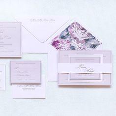 Floral Wedding Invitations | Brides