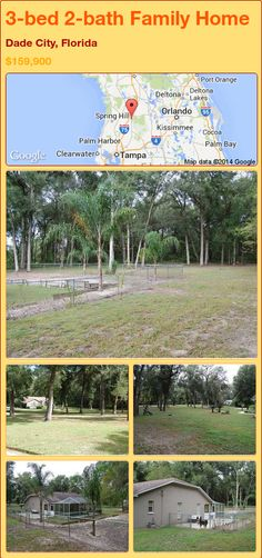 3-bed 2-bath Family Home in Dade City, Florida ►$159,900 #PropertyForSale #RealEstate #Florida http://florida-magic.com/properties/75193-family-home-for-sale-in-dade-city-florida-with-3-bedroom-2-bathroom