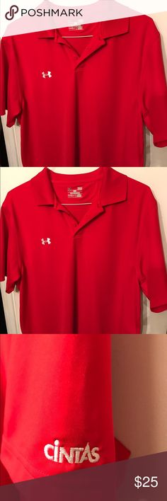 Under Armour polo shirt in excellent condition Very nice polo shirt and excellent condition. Heat gear from Under Armour Under Armour Shirts Polos