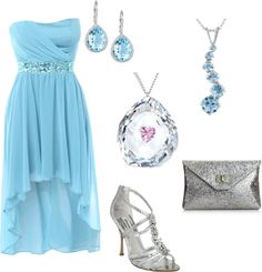 Formal Beach Wedding, created by danniesue on Polyvore