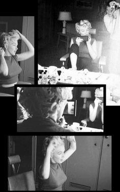 Marilyn. Photos by Milton Greene, 1954.