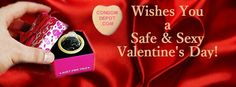 Shop for your sweetie's Valentine's Day Gift on CondomDepot.com!