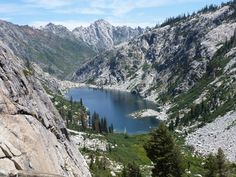 Emerald, Sapphire, and Mirror Lakes in the Trinity Alps Via Stuart Fork trailhead.  4 night backpacking