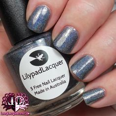 Lazy Lacquerista: AIPAS Weekly Challenge :: N or W Polishes :: Lilypad Lacquer Nothing Else Matter & Dead Set Babes Neutron Dance
