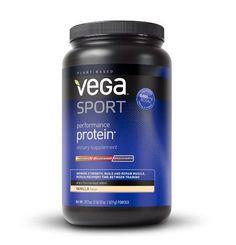 Vega Sport Performance Protein, Vanilla, Tub, 29.2 oz
