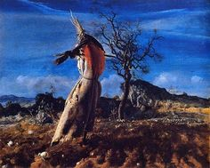 Annigoni, Pietro (1910-1988) - The Scarecrow (Private Collection) by RasMarley, via Flickr