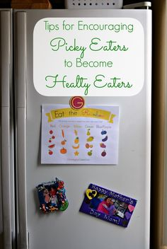 Tips to encourage picky eaters to become healthy eaters!