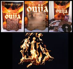 In 2003 Jose Gonzalez and his production company Eleven Dreams started filming the Spanish movie #Ouija (not the 2014 Hasbro/Universal one) and it was released as a hit in Spain in 2004. A few weeks ago Jose hit me up and asked me if I'd be willing to give the board from his movie, along with a ton of other stuff from the set, production, and marketing a new home. I'd reached out in 2004 but was told nothing from the set was available so I was pumped. He read I have colle