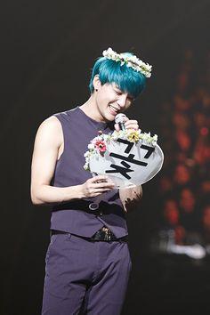 Kim Junsu's 'Flower' concert in Seoul (150309)