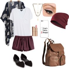 A fashion look from September 2015 featuring MANGO t-shirts, H&M shorts and Nly Shoes flats. Browse and shop related looks.