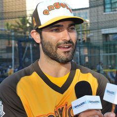 siriusxm: Whether he's howling at the moon on #TeenWolf or channeling his inner baseball star at the @mlb All-Star's Legends & Celebrity Softball Game,