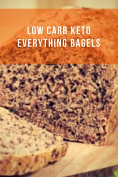 Although flax seed is not a grain, it still has a vitamin and mineral content similar. Easy Dinner Recipes, Delicious Recipes, Easy Meals, Lumberjack Cake, Everything Bagel, Bagels, Low Carb Keto, Have Time, Sweet Stuff