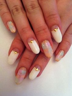 Pretty Nail Art Ideas Summer - Give your nails a summer-over by wrapping them in the hottest seasonal hues! If you're lacking inspiration, take a peek at the following designs and draw inspiration for your next pretty manicure!