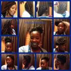 Currently...#nubian twist with side braids