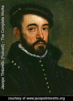Якопо Тинторетто (Робусти) - Портрет мужчины 5