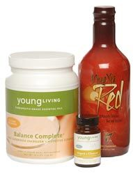 Healthy living with Young Living products