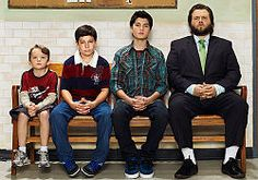 Funny sitcom that was cancelled. Sons of Tucson Cast. Tyler Labine so funny.