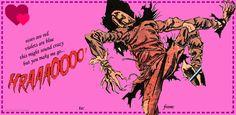 Batman Valentines Scarecrow