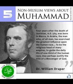 Dr William - Non Muslim views about Islam, prophet Muhammad (pbuh) Islamic Teachings, Islamic Quotes, Quran Quotes, Arabic Quotes, Quran Verses, Religious Quotes, Islamic Art, Le Prophete Mohamed, Photo Grid