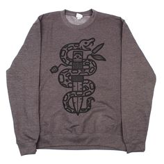 SNAKES & DAGGERS SWEATSHIRT Now available to buy! http://sampeet.bigcartel.com/product/snakes-and-daggers-sweatshirt