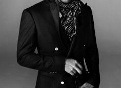 men style / fashion / black