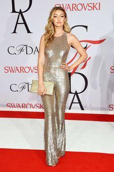 Gigi Hadid in Michael Kors at the CFDA Awards