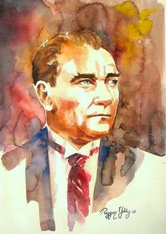 15 Magnificent Atatürk Portrait Drawn by Watercolor The post 15 Magnificent Atatürk Portrait Drawn by Watercolor appeared first on Xup Social. Oil Painting Pictures, Original Design, Most Beautiful Images, Portraits, Galaxy Wallpaper, Tag Art, Clipart, Art Blog, Watercolor Paintings