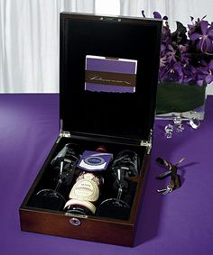 Wine Box Ceremony Set adds a romantic touch to your wedding day and upcoming anniversaries. This love letter ceremony set includes a wine box, two goblets, stationary and instructions for use. Wedding Boxes, Diy Wedding, Wedding Favors, Wedding Gifts, Wedding Ideas, Wedding Stuff, Dream Wedding, Wedding Planning, Wedding Things