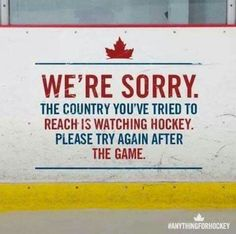 We are dedicated to servicing the adult recreational and oldtimers hockey community in Canada. We strive to develop and deliver hockey resources that assist team, league and tournament organizers across Canada and around the world. Canadian Memes, Canadian Things, I Am Canadian, Canadian Humour, Canadian History, Canadian Recipes, Canadian Winter, Humour Canada, Canada Funny