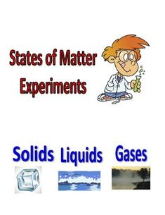 A series of experiments covering solids, liquids and gases and how cooling, melting and force can change states of matter.