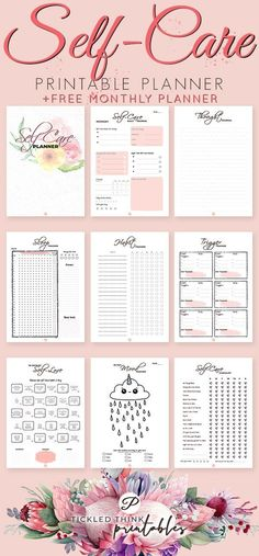 Feeling stressed and overwhelmed? Self care is not selfishness. This is important to your overall health, happiness and stress management. With the help of this self care printable planner, you can now start taking care of yourself every day, improve
