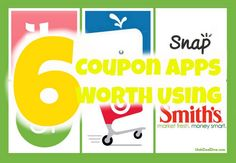 Utah Deal Diva: Helping Utah Families Live on Less: 6 Coupon and Saving Apps Worth Using