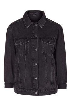 MOTO Oversized Denim Jacket - Denim - Clothing - Topshop Europe