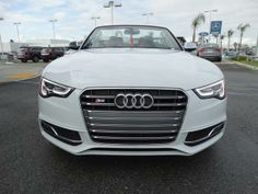 2014 Audi S5 3.0TquattroPrestige AWD 3.0T quattro Prestige 2dr Convertible Convertible 2 Doors Glacier White Metallic/Black Roof for sale in West covina, CA Source: http://www.usedcarsgroup.com/used-audi-s5-for-sale