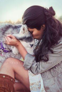 Huskey Dog Session- pet family photography.