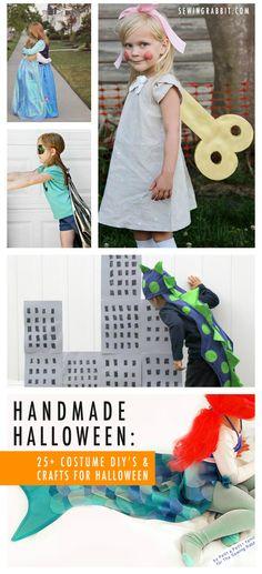Handmade Halloween, 25  Crafts and Costumes