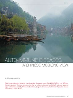 Word-renowned Chinese Medicine teacher and blogger Giovanni Maciocia on treating auto-immune diseases with Chinese Medicine.