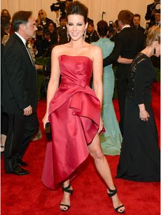 Kate Beckinsale at the Met Gala 2013