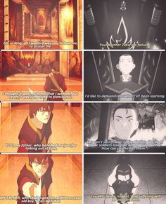 Zuko confronts his father. And does he EVER! :D