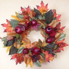 Fall Wreath - by Vlasta